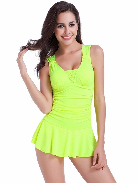 Sweetie One Piece Soft High Quality Dresses Monokini Outdoor Push up Swimsuit