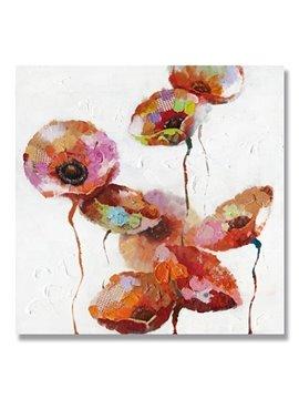 Beautiful Classic lotus Root Oil Painting
