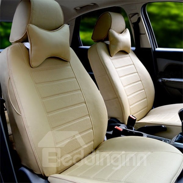 classic black design and high grade microfiber leather material car seat covers. Black Bedroom Furniture Sets. Home Design Ideas