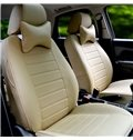 Classic Black Design And High-Grade Microfiber Leather Material Car Seat Covers