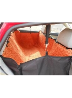 Double Layer And Orange Color High Capacity Pet Dog Seat Mat Blanket