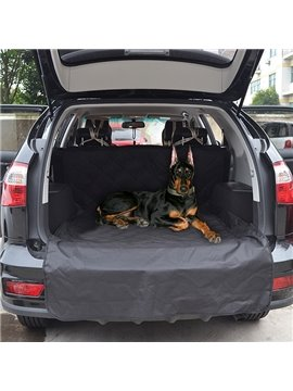 Popular And Pure Black Easy To Deal Pet Seat Mat