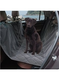 High Quality And Suede Material Rear Pets Seat Mat