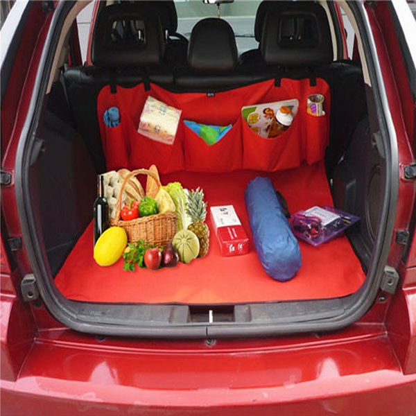 Monolayer With Five Pocket Trunk Seat Mat