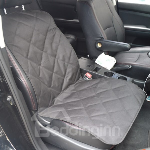 Pure Color Simple Style Front Pet Seat Mat