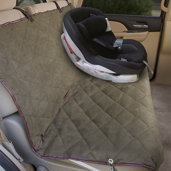Classic Pure Color Rubber Band Style Practical Rear Pets Seat Mat