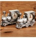 Classic European Style Train Alarm Clock Desktop Decoration
