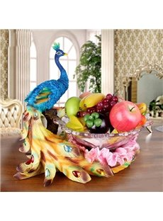New Arrival Amazing Animal Peacock Desktop Decoration