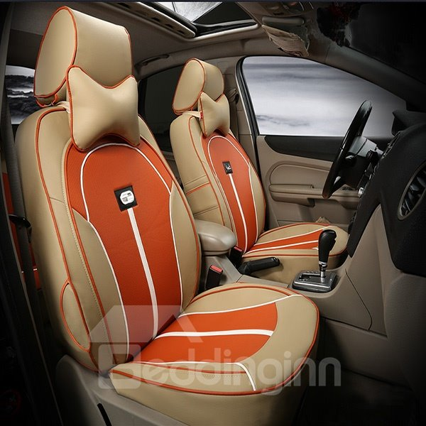 Fashional And Breathable PU Leather Material Car Seat Cover