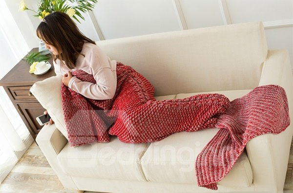 New Arrival Warm and Soft Mermaid Blanket