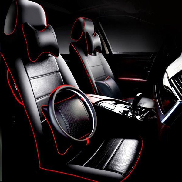 More Free Accessories Super Classic And Luxury Leather Car Seat Cover