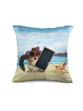 Stylish Modern Mouse 3D Print Throw Pillow Case