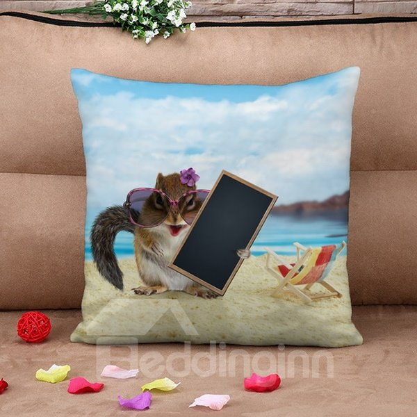 Stylish Modern Mouse 3D Print Throw Pillow Case