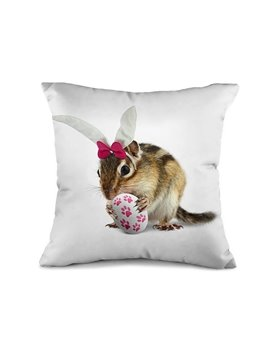 Funny Mouse 3D Print Modal Fibre Throw Pillow Case