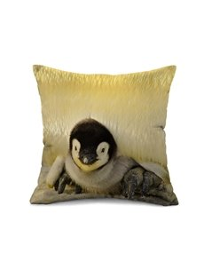New Arrival Lovely Penguin Baby Print Throw Pillow Case