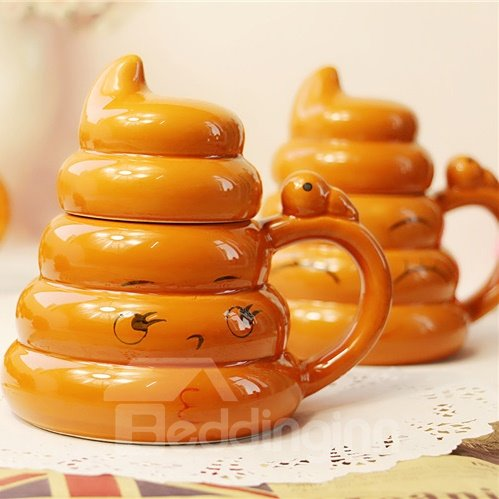New Arrival Creative Yellow Eyelash Cups