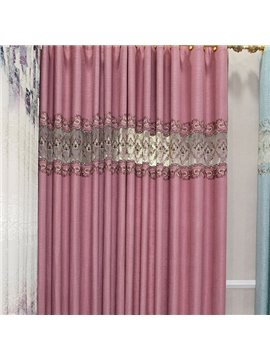 Gorgeous Guipure Semi Transparent Grommet Curtain Panel