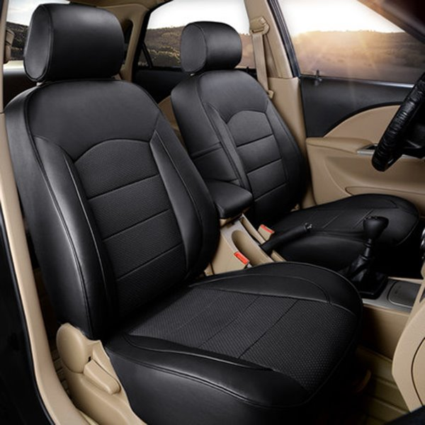 Attractive Leatherette Material And Super Luxurious Custom-Fit Five Car Seat Cover