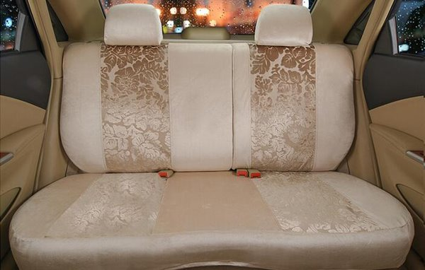 Pastoral Nobility Pattern And High Quality Car Seat Cover