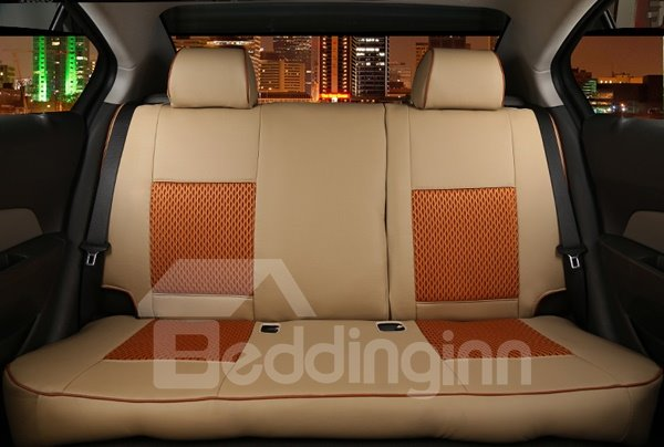 3D Classic Leather Mash Style Car Seat Cover