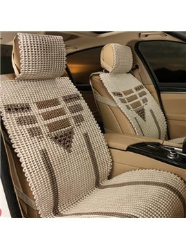 Hand-Woven Freshing Cool Wattled Universal Car Seat Cover