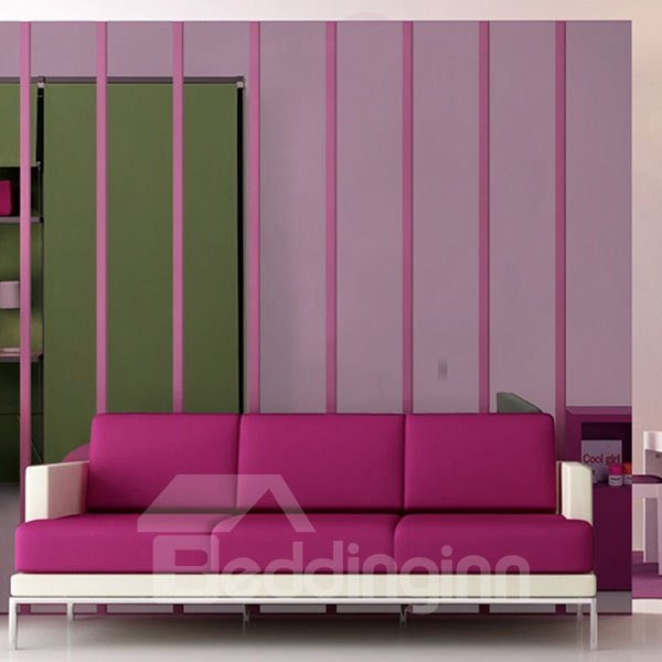 New Shining Rectangle Decorative Wall Stickers
