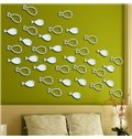 Hot Sale Beautiful Fishes Wall Art Stickers
