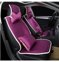 Smooth And Breathable Bright Color Extremely Comfortable Ice Silk Universal Car Seat Covers