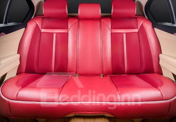 Classic Red Color Universal Bright Red Car Seat Cover