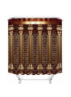 European Style Roman Column Print 3D Bathroom Shower Curtain