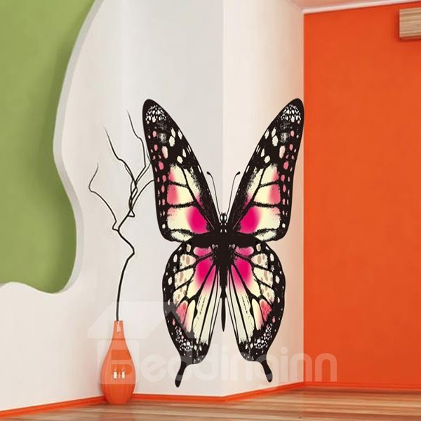 Amazing Decorative Digital Butterfly Pattern Wall Sticker