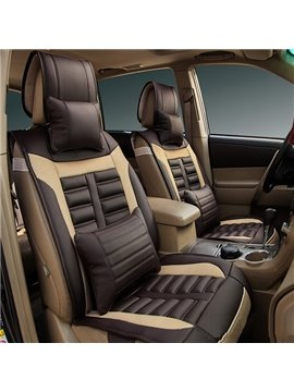 Eco-Friendly Leather Material Classic Universal Car Seat Cover