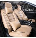 Luxurious Sports Version With Extra Comfort Side Cushions PU Universal Car Seat Covers