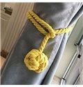 Decorative Pure Manual Weaving Cotton Rope Curtain Tiebacks