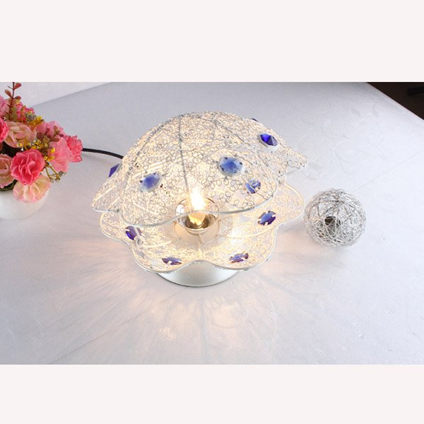 Creative Fashion Design Pearl Shape Home Decorative Table Lamp