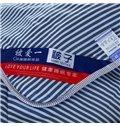High Class Stylish Flag Print Polyester Summer Quilt