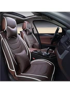 Sports Series Streamlined Patterns Modernistic Design Universal Car Seat Covers