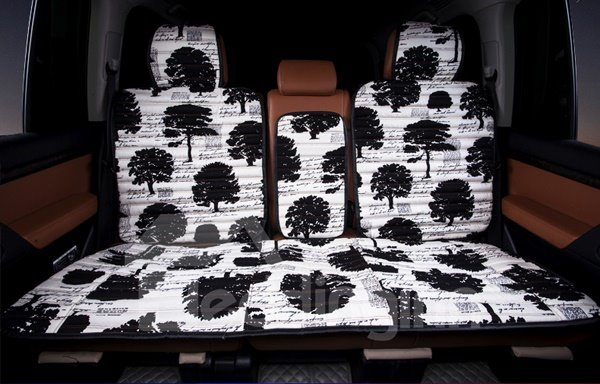 Popular Art And Design Tree Pattern Universal Five Car Seat Cover