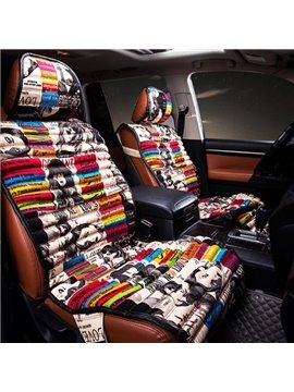 Graffiti Art Style Most Popular Universal Five Car Seat Cover