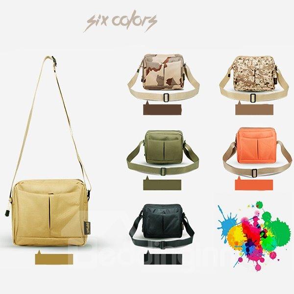 8L Oxford Fabric Single Shoulder Sling Unbalance Backpack Outdoor Bag