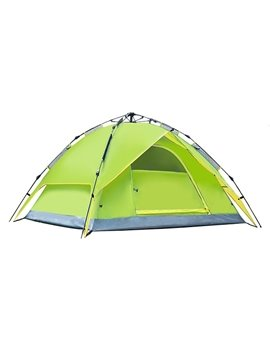 3-4 Person Instant Waterproof Double Layers Camping and Hiking Tent
