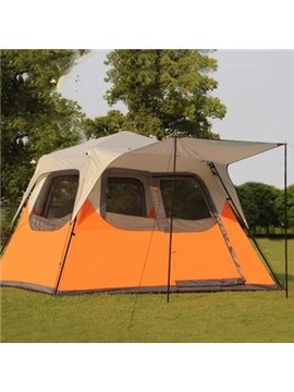 5-8 Person Outdoor Camping and Hiking Waterproof Adjustable Instant Tent