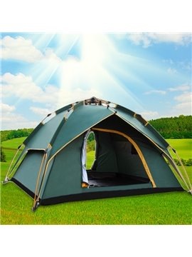 3-4 Person Outdoor Lightweight Aluminum Skeleton Instant Camping and Hiking Tent