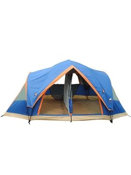 5-8 Person Durable Outdoor 2 Bedroom Waterproof Instant Camping and Hiking Tent