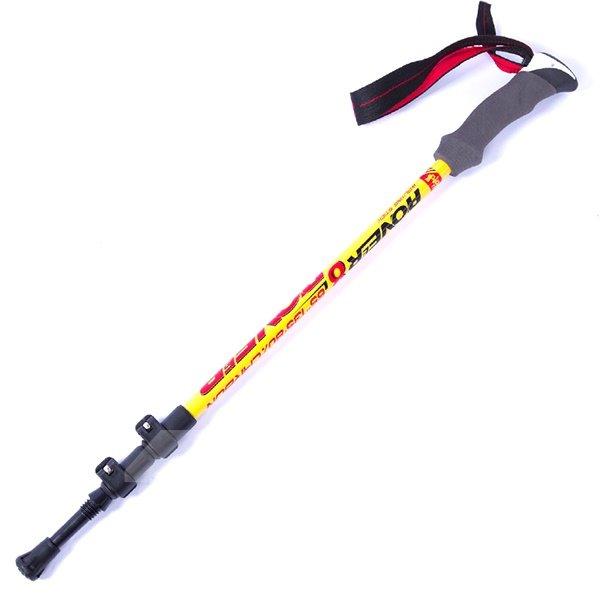 Lightweight Hiking Trekking Carbon Fiber Stick Pole with Stock Outdoor Alpenstock