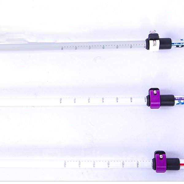Lightweight Couple Triarticular Hiking Trekking Stick Pole Alpenstock