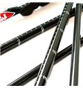 Carbon Fiber Stick Pole with Lock Trekking Hiking Adjustable Triarticular Alpenstock