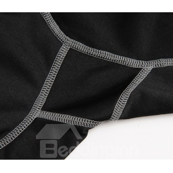 Simple Style Black Long Sleeve Jersey Cycling Clothing