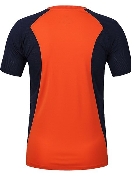 Bright Color Simple Style Short Sleeve Cycling Jersey Quick Drying Shirt