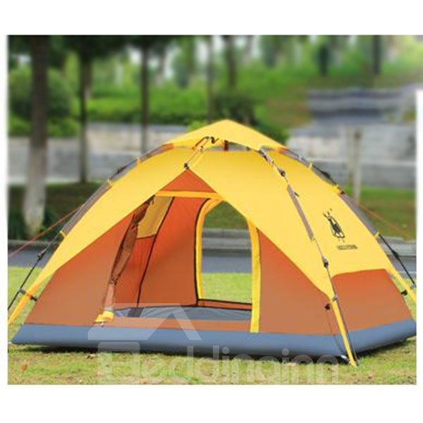 Single Person Double Layers Aluminous Skeleton Tent Outdoor Camping Tent